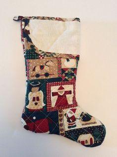 Bucilla jeweled felt kit vintage christmas mail bag down for Charles craft christmas stockings
