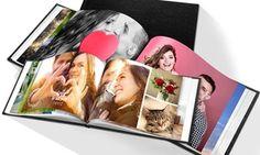 Groupon - Fotolibro personalizado con cubierta de cuero desde 6,95 € (hasta 80% de descuento). Precio Groupon: 6,95€