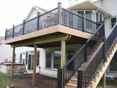 Love this enormous deck from JH Construction & Remodeling LLC