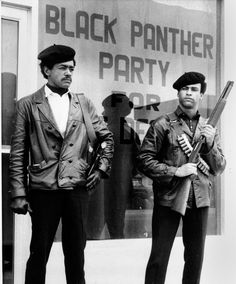 Bobby Seale & Huey Newton, 1969- The New York Times