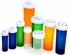 Pharmacy Vials with Cap
