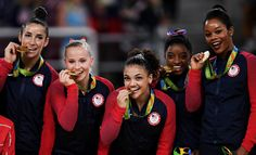 U.S. Women's Gymnastics Team Wins Second Consecutive Olympic Gold Medal