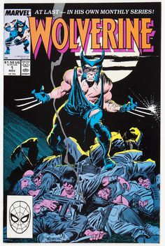 Wolverine #1 (Marvel, 1988) First Wolverine as Patch. John Buscema cover and art. Al Williamson art.