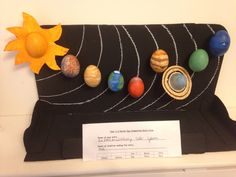 EGGStraordinary Solar System - school project for Easter! Simply paint blown out eggs and attach to cardboard frame. Easter Egg Crafts, Easter Eggs, Easter Egg Competition Ideas, Egg Blowing, Lego Christmas, Easter Egg Designs, Easter Traditions, Easter Parade, Egg Art