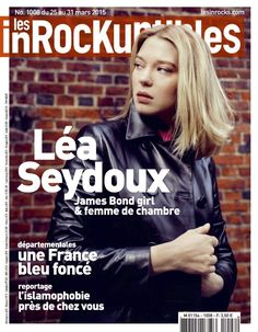 Actress @ Lea Seydoux - les inRocKuptibles, March 2015