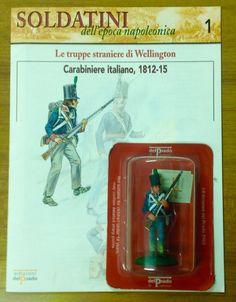 CARABINIERE ITALIANO 1812-15 54mm. soldatino di piombo