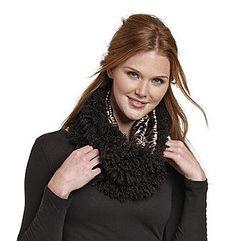 Betsey Johnson® Curly Fur Loop $28