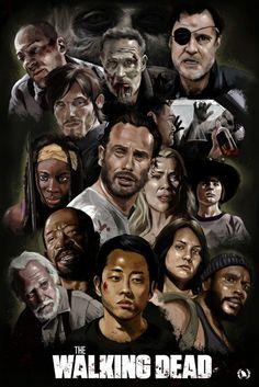 Une somptueuse image des personnages de The Walking Dead [Photo du jour]