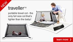NEW traveller portable cot!