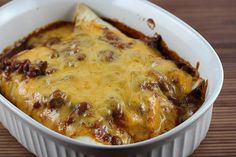 This Easy Chili Dog Casserole could not be any simpler to make. If you're short on time or want to make a kid-friendly meal, then this recipe is what you need. It only requires four ingredients.