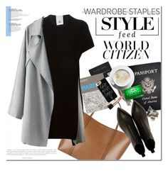 """""""citizen of the world"""" by lemonade-lagoon ❤ liked on Polyvore featuring Dolce&Gabbana, Lost & Found, Passport, Acne Studios, Casetify, Lancôme, women's clothing, women, female and woman"""