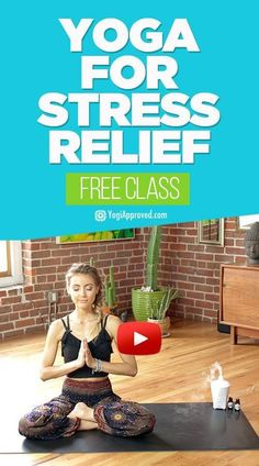 10 Minute Yoga Sequence for Stress Relief (Video)