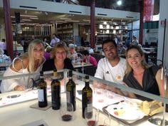Dagli Usa e dal Canada ecco i nostri winelovers alle prese con il Chianti!