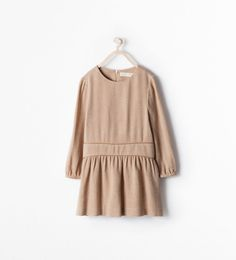 Image 1 of FLOWY DRESS WITH PIPING from Zara