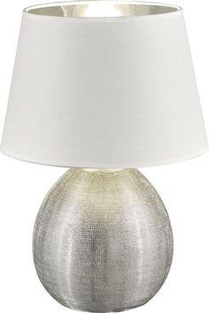 Pöytävalaisin Reality Luxor  | bauhaus.fi Luxor, Lighting, Silver, Home Decor, Medium, Bauhaus, Products, Bedside Lamp, Lights