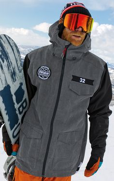 Thirtytwo Men's Sesh Snowboard Jacket