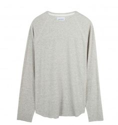 NORSE PROJECTS 'ASKE' TEXTURED TOP. Graphite. £69.00