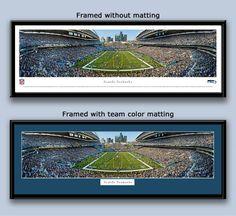 Seattle Seahawks CenturyLink Field Football Framed Poster - MyTeamPrints.com -Framed Sports Prints