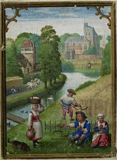 August by Simon Bening - The Hennessy Hours 1530
