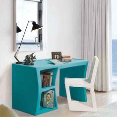 Design γραφείο με γυαλί Office Desk, Furniture, Design, Home Decor, Desk Office, Decoration Home, Desk, Room Decor