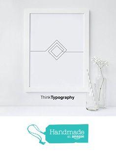 Abstract, Simple, Modern, Trendy, Black and White, Poster, Polygonal, Geometric, Geometrical, Art Print, Wall Art, Home Decor, Scandinavian from Serif Design Studios https://smile.amazon.com/dp/B01DNNE9T8/ref=hnd_sw_r_pi_dp_yg5czbV13WM4R #handmadeatamazon