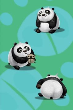 Cute little Po! Kung Fu Panda 2