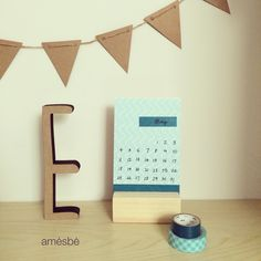 May • Maig • Mai • Mayo #calendar #calendrier