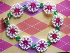 Daisy Chain ~ Bracelet or Anklet!! - http://jewelry.onwired.biz/anklets/daisy-chain-bracelet-or-anklet/