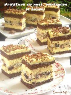 Food Cakes, Dessert Bars, Just Desserts, Tiramisu, Cake Recipes, Carrots, Food And Drink, Ice Cream, Cooking Recipes