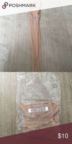 Natural Hoisery Brand new with tags! Never worn and in excellent condition! Great staple for any wardrobe! Open to reasonable offers through feature! Accessories Hosiery & Socks