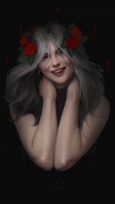 Vampire Girl iPhone Wallpaper - iPhone Wallpapers