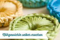 Nähgewichte selber machen   DIY   Frau Fadenschein