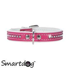 Hunter Luxus Art Halsbånd - Pink