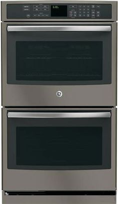 GE Profile PT7550EHES 30 Double Electric Wall Oven in Grey -- Continue to the product at the image link. (Note:Amazon affiliate link) #WallOvens