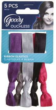 Have to try these!!! I'm learning all about Goody Ouchless Ribbon Elastics at @Influenster! @GoodyHair