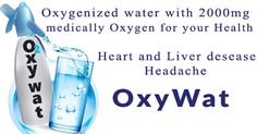 Oxygenated Water at Your Home