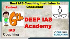 Rank wise Top IAS Coaching Centres in Ghaziabad offering various courses like - UPSC, MPSC, CSAT including their past performance and contact details. Online Test Series, Online Tests, Ias Notes, Civil Service, Study Materials, Computer Science, Coaching, Education, Top