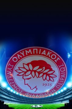 FreeiOS7 | olympiakos-fc-logo | freeios7.com Ios 7 Wallpaper, Wallpapers, Football Themes, Uefa Champions League, Ipad, Neon Signs, Logos, Free, Sports Teams