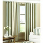 Riva Home Gatsby Ring Top Curtains In Duck Egg Blue