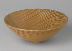 James Prestini, Bowl (no. 294),  ca. 1945. Ash. Courtesy Museum of Modern Art, NY