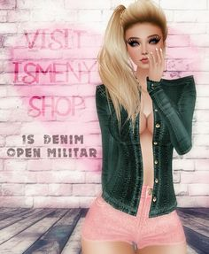 💓💓💓 VISIT ISMENY SHOP 💓💓💓       [Is] Denim Open Militar http://es.imvu.com/shop/product.php?products_id=34642007