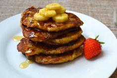 Extra Banana Banana Pancakes