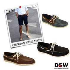 Sunday Style: Nothing says Sunday casual like loafers and shorts. Shop the look: http://www.dswshoe.com.au/Catalogue/ListedProducts?departmentName=Men