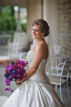 Wedding hair/makeup/bouquet; Bouquet from Flowers by Stem