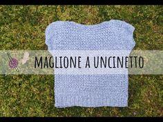 Come fare un Maglione all'Uncinetto facile e comodo - Schema - Tutorial Uncinetto - YouTube Estate, Video, Youtube, Cardigan Sweater Outfit, Winter Time, Blouses, Youtubers, Youtube Movies