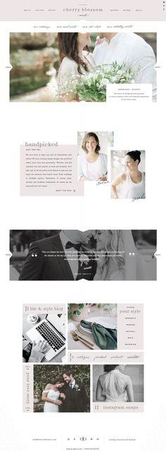 Website Usability Principles - Consistent Navigation and Layout Wedding Website Design, Beautiful Website Design, Website Design Layout, Wordpress Website Design, Web Design Tips, Website Design Inspiration, Blog Design, Web Layout, Creative Design