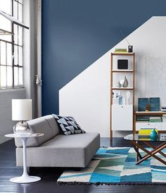 This room definitely aced geometry. 💯🔷📐 Shop this look with the link in. Cottage Interiors, Office Interiors, Interior Office, Cafe Interior, Wood Interior Design, Furniture Design, Bedroom Wall Designs, Beautiful Living Rooms, My Living Room