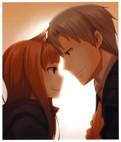Holo and lawrence. Spice and Wolf.