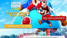 Super Mario Run Generator Hack is an online LIVE tool that will help you to FREE generate COINS on your iOS or Android device!  http://live.gamesped.com  Only 1x using online TOOL Generator is allowed per account in 24 hours to prevent abuse. Every day Auto - update - system. This tool isTested and undetectable. 24/7 online access. Very simple to use by anyone and it has a very user friendly interface. Not of root Android or jailbreak iOS is required. AntiBan System for the se...