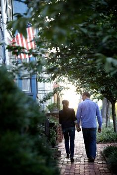 Engagement Shoot Old Town Alexandria12 275x412 Liz + Matts Old Town Alexandria Engagement Session